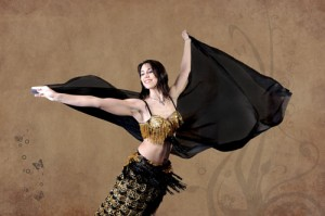 Yasmina Andrawis danza oriental